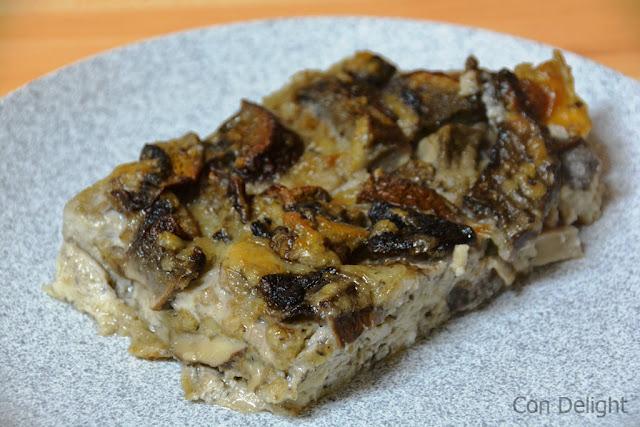 פשטידת פטריות ביתית Mushroom pie