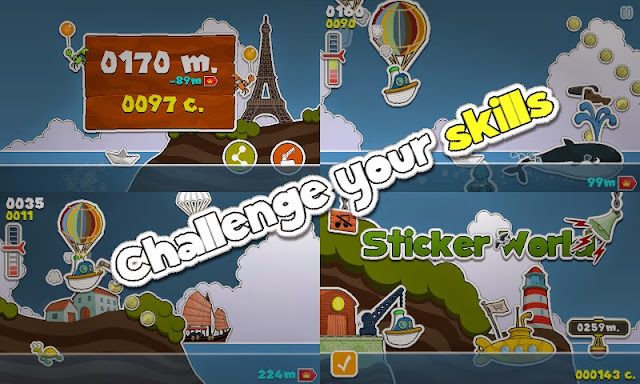 Sticker World, un 'endless-runner' diferente