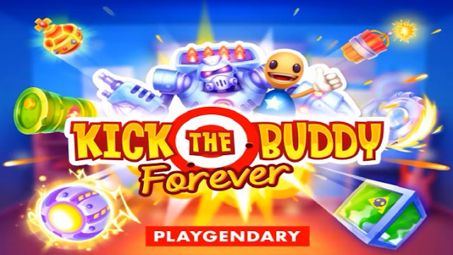Download kick The Buddy Forever v1.2 Mod Apk Terbaru 2019 (Unlimited Gold & money)