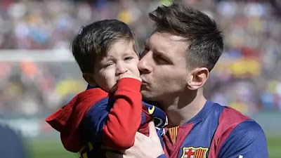 Lionel Messi's Eldest Son scored 2 goals for the Barcelona Academy Team