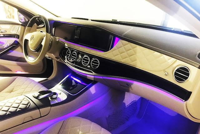 Mercedes Maybach S600 trang bị hệ thống AIR-BALANCE cao cấp