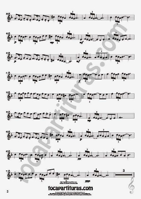 2  Bulería Lenta Partitura de Violín Sheet Music for Violin Music Scores Music Scores Flamenco