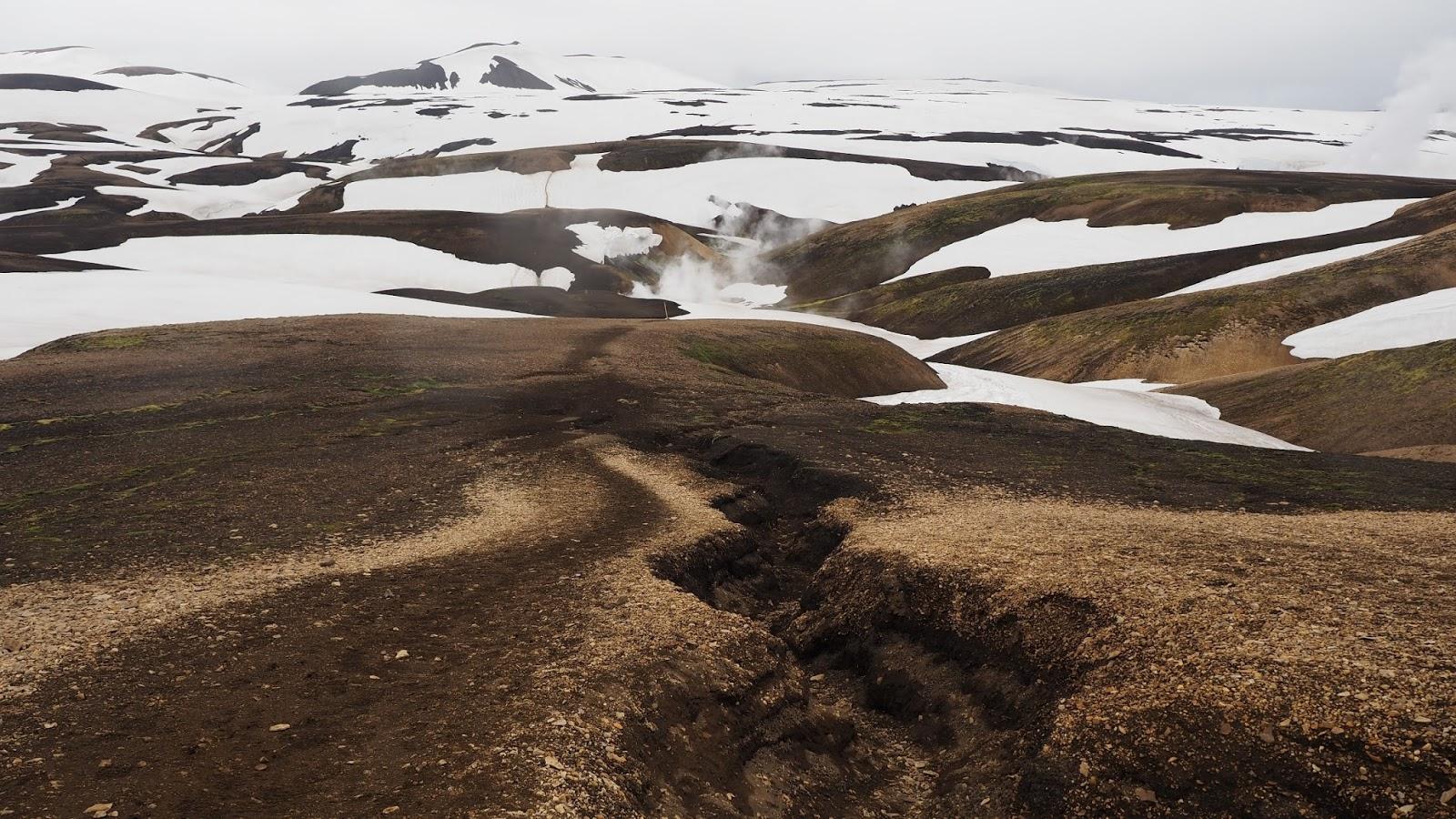 islandzkie góry, islandzki interior, highlands