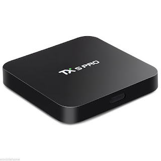 TX5 Pro TV Box H.265 Quad Core Amlogic S905X 16G Android 6.0 2.4G/5.8G Wifi