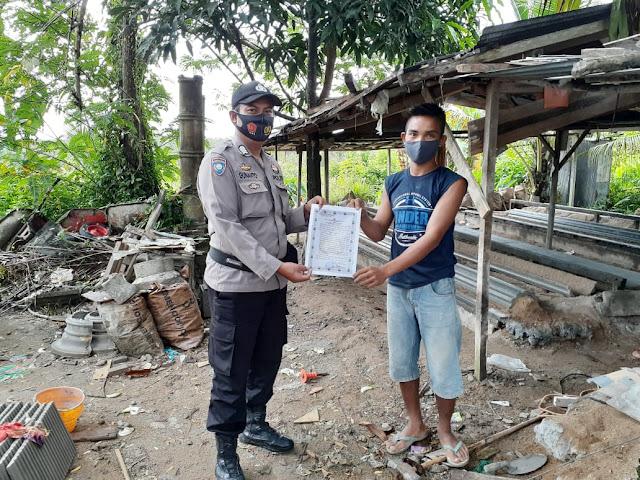 Polsek Dusteng Gencar Sosialisasikan Maklumat Kapolres Bartim