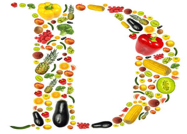 Where is vitamin D in food ?