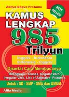 Kamus 985 Lengkap Trilyun Kecil Index | Rp. 18.500,-