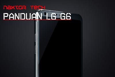cara screenshot di LG G6