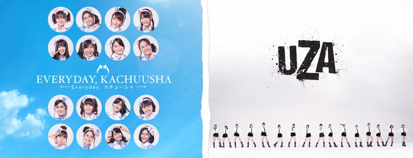 19th Double Single JKT48 Everyday Kachuusha & UZA