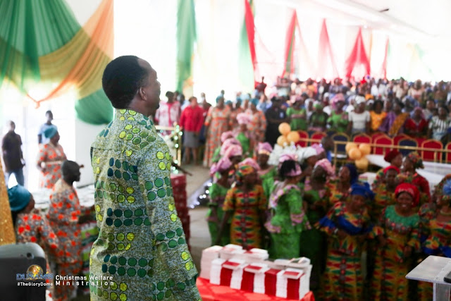 Becky And Paul Enenche Of Dunamis Celebrate Christmas With Widows, Orphans, Others