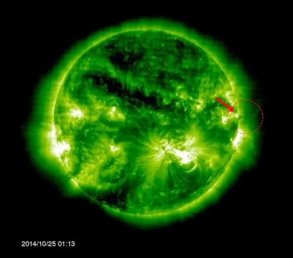 UFO Seukuran Bumi Terlihat Berada Di Orbit Matahari