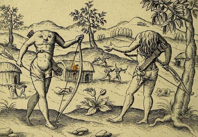 Blemmyae The Headless Men