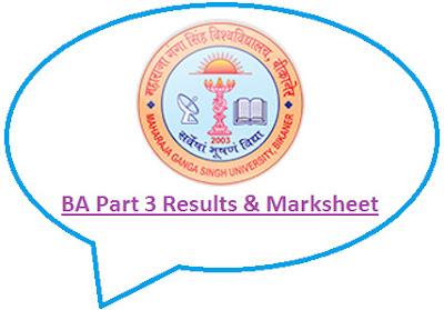 MGSU BA Final Result 2021