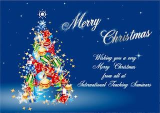 Kartu Ucapan Natal Merry Christmas 8007