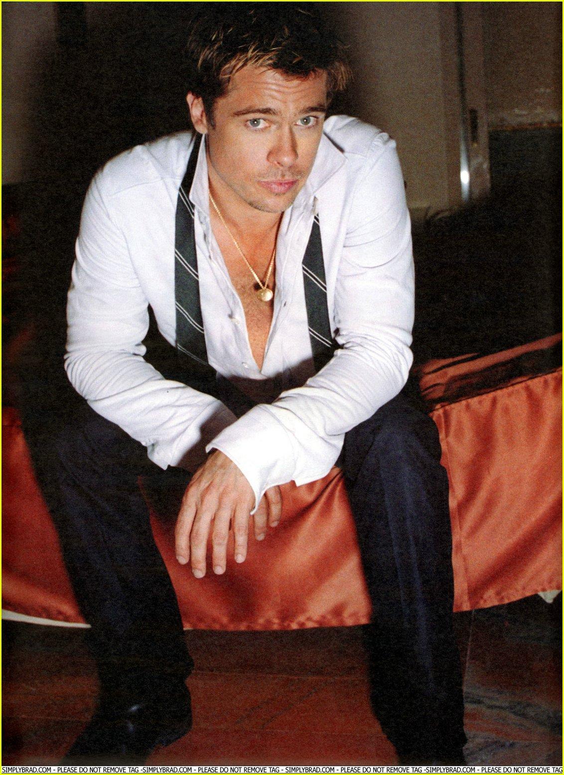 Brad Pitt Interview