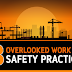 8 Overlooked Work Site Safety Practices #infographic