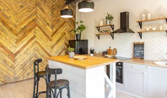 Más de 10 ideas ingeniosas para aprovechar y decorar las paredes de la cocina