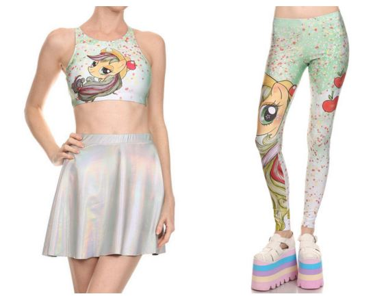 poprageous releases mlp clothing collection mlp merch