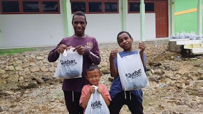 Qurban Tanpa Batas BMH Tembus Berbagai Titik Rentan di Papua