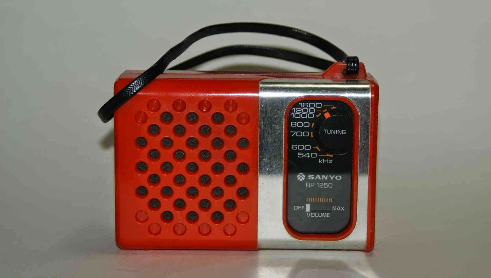 書き溜め space: SANYO トランジスタラジオ RP 1250 AM専用機