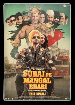 Suraj Pe Mangal Bhari (2020) Hindi World4ufree