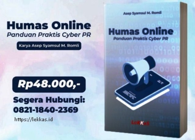 Resensi Buku: Humas Online, Panduan Praktis Cyber PR