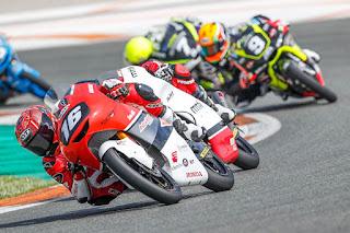 Late Post: Mario Aji Finish Kelima Di CEV Moto3 Valencia 2021
