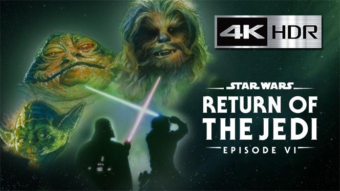 El regreso del Jedi (1983) 4K UHD [HDR] Latino-Castellano-Ingles