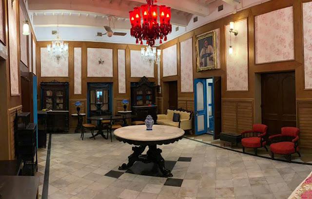 Library of Bari Kothi Murshidabad Azimganj