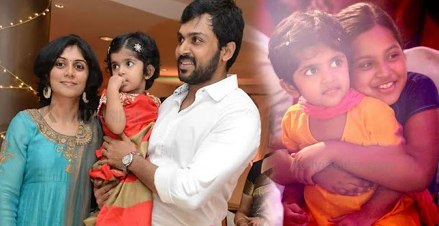 Actor Karthi and his wife Ranjani second time
