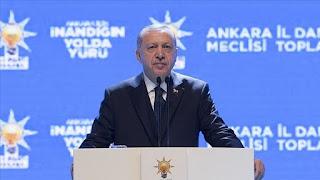 أردوغان يحذر أوروبا من تدفق ملايين اللاجئين  جاء ذلك في كلمة القاها خلال