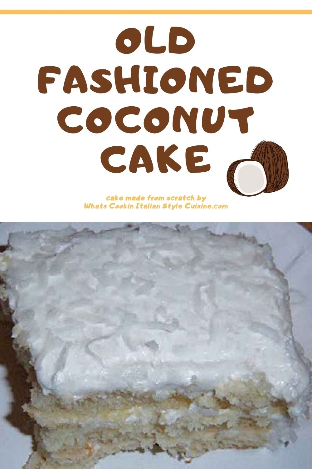 how to make a coconut loaf cake with pin for later