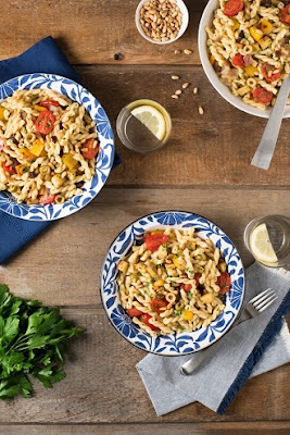 Caponata Pasta Salad Recipe
