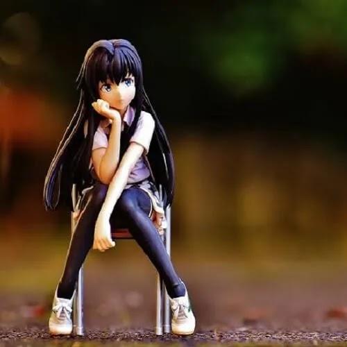 Sad girl DP