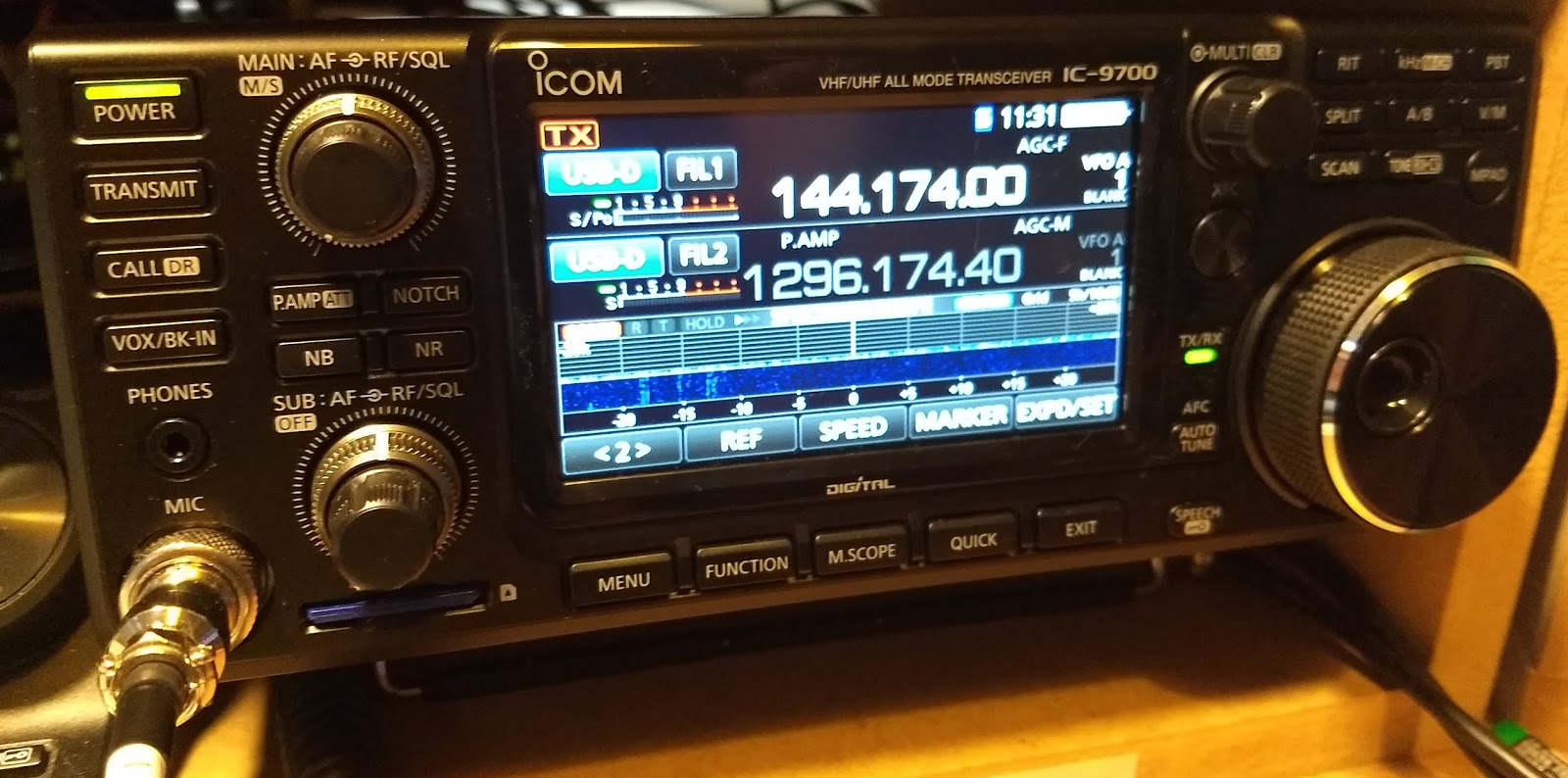 GM4FVM's radio world: IC-9700 first look