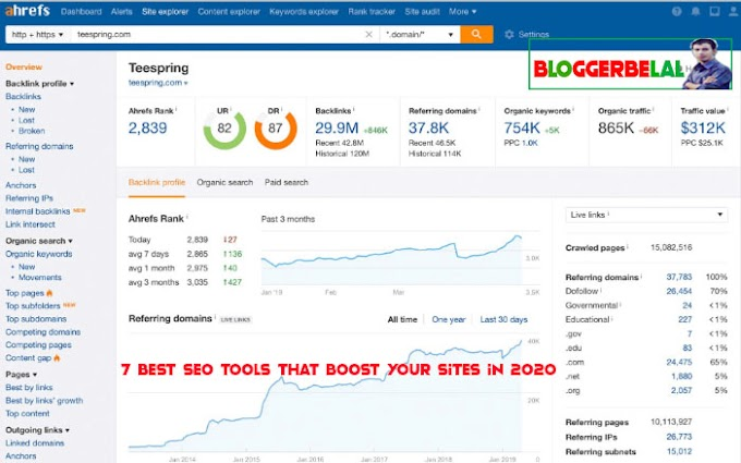 7 Best SEO Tools That Boost Your Sites in 2020