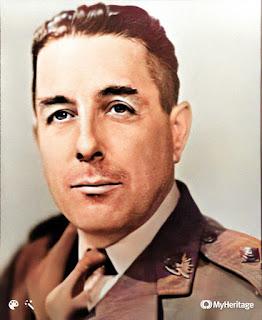 Image of Lieutenant Alf Boxall in uniform