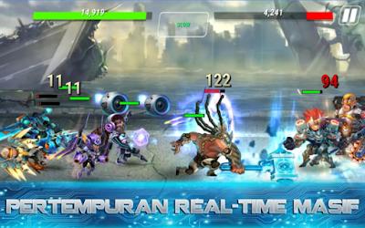 Download MOd Heroes Infinity: Gods Future Fight Apk Terbaru