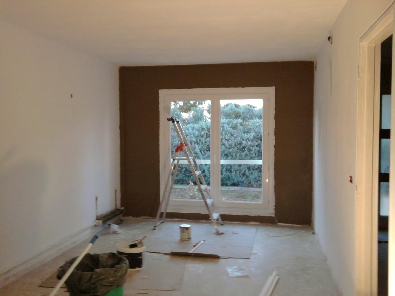 notre r novation changement de la porte fen tre du salon en baie vitr e. Black Bedroom Furniture Sets. Home Design Ideas