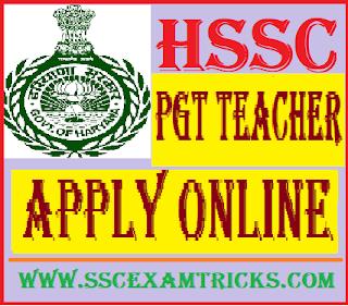HSSC PGT Urdu Teacher Recruitment