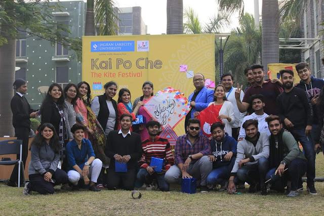 Celebrating the festival of Kites