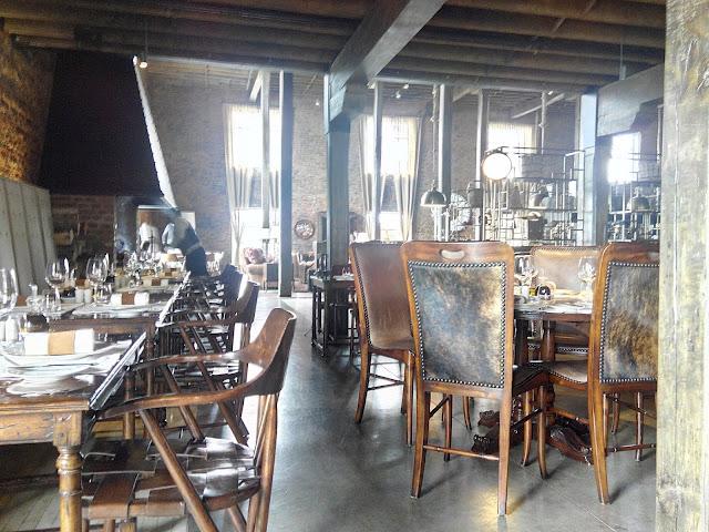 Retaurante Hotel Singular Patagonia
