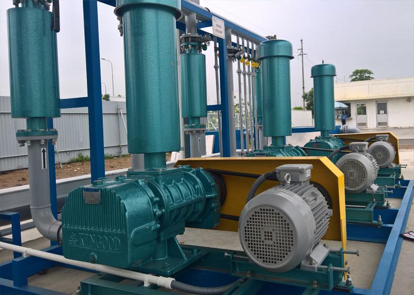 Sửa máy thổi khí Kingood ARS150 - KCN VSIP Hải Phòng