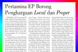 Pertamina EP won many Local and Proper Awards