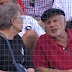 White Sox fan oblivious to mustard on his face (Video)
