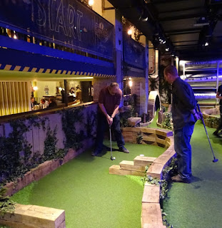 Swingers Crazy Golf in London