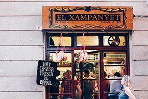 Bar el Xampanyet de Barcelona
