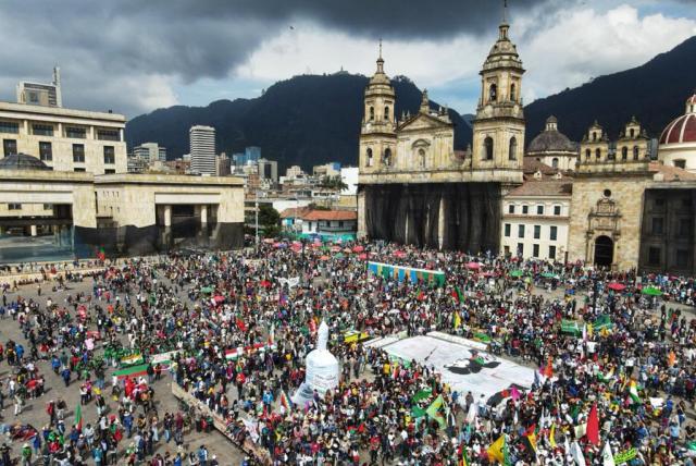 La Minga Indígena al departamento al Cauca
