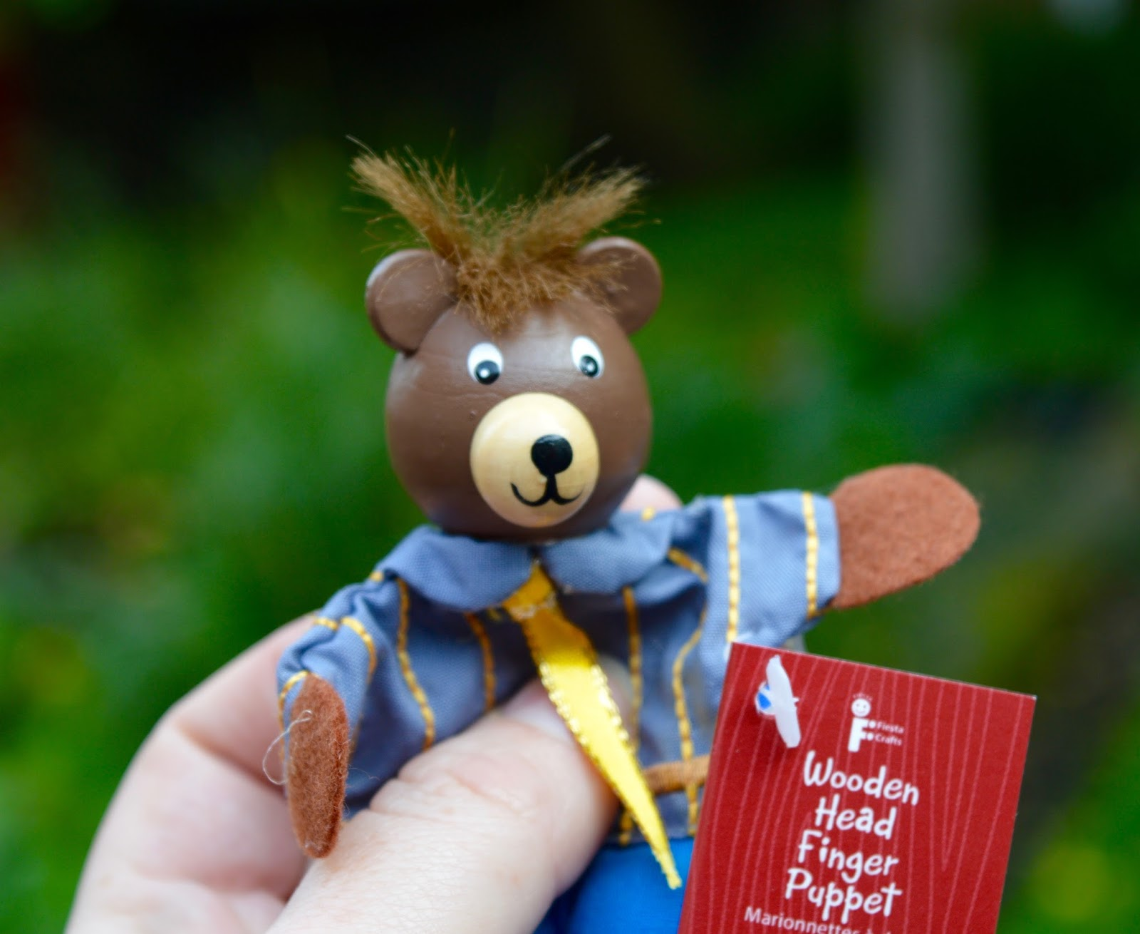 Great Days Out with Northern  | Our Day Trip to Carlisle by Train - finger puppet from the mouse house at Tullie museum