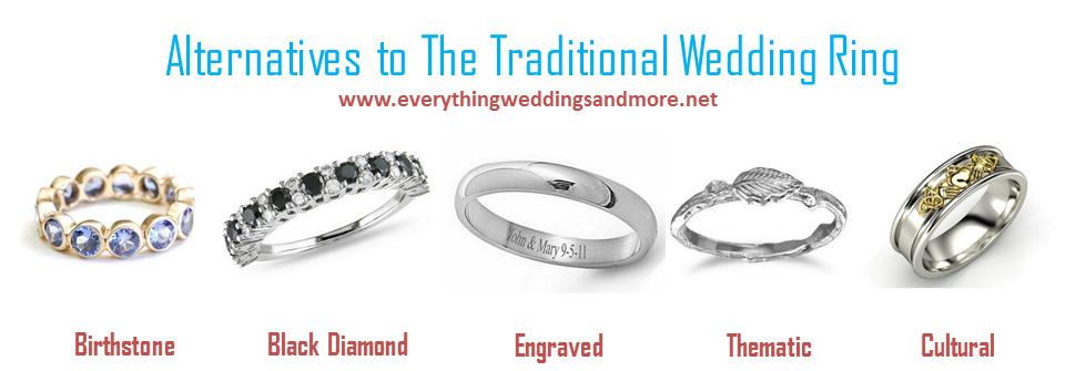 Alternatives to the Traditional Wedding Ring Guest Post KnotsVilla